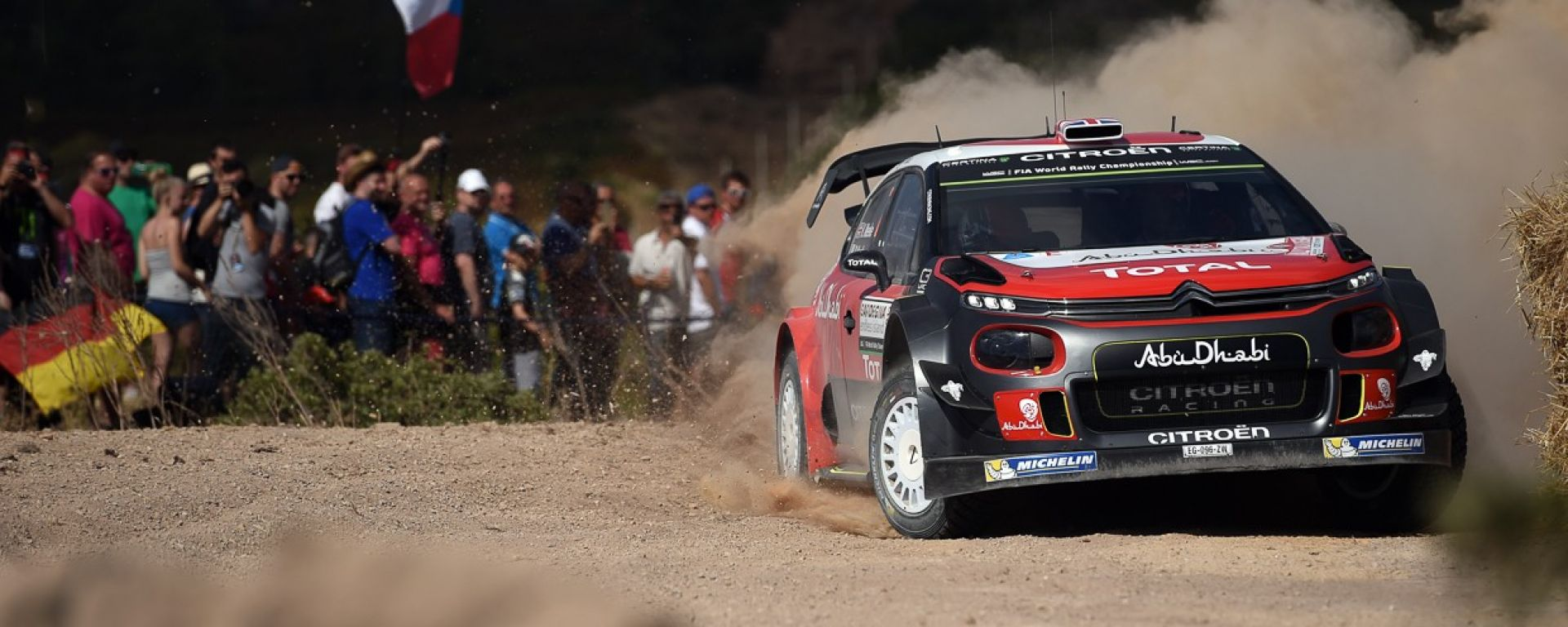 Citroen Racing - Rally Italia Sardegna 2017 WRC