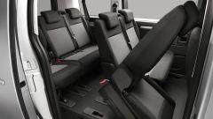 Citroen Spacetourer 2020: la seconda e la terza fila di sedili