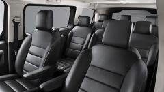 Citroen Spacetourer 2020: sedili in Pelle Claudia Nera. Disponibili di serie su Shine e Business Lounge