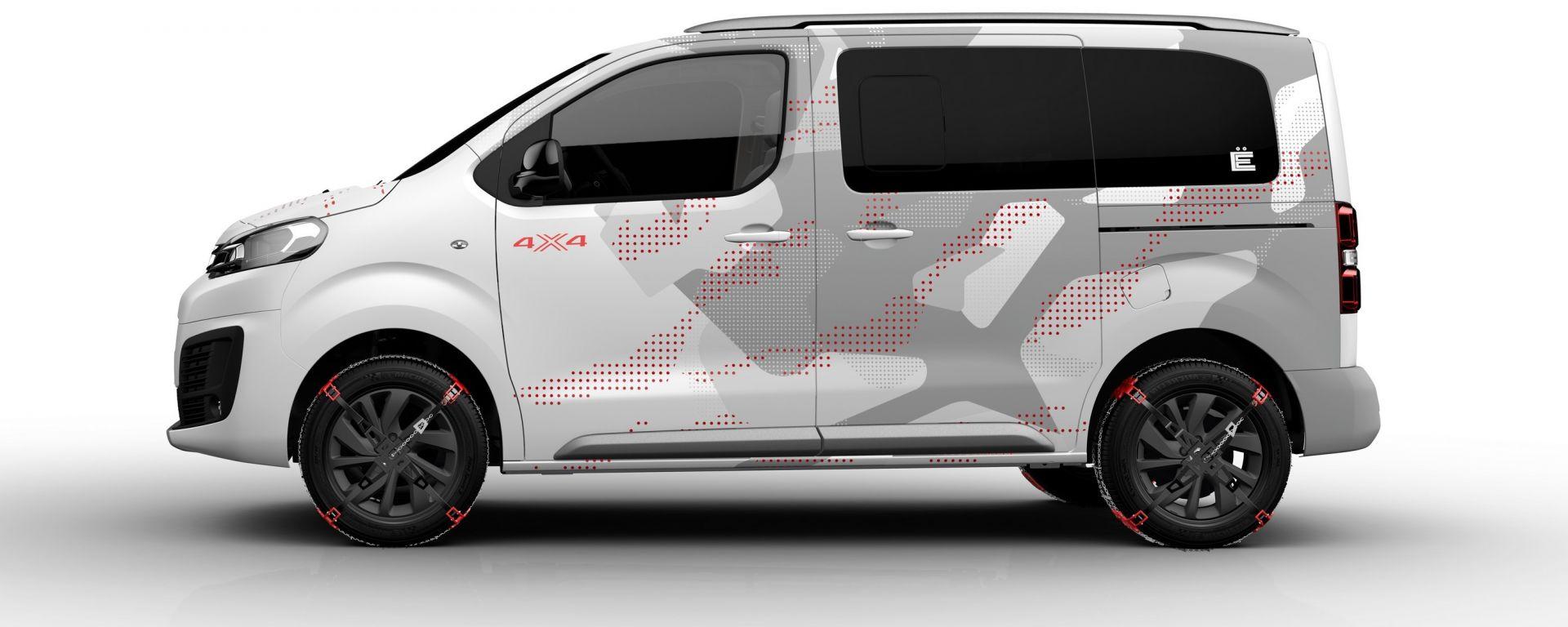 salone di ginevra 2017 citroen spacetourer 4x4 concept il van per l avventura motorbox. Black Bedroom Furniture Sets. Home Design Ideas