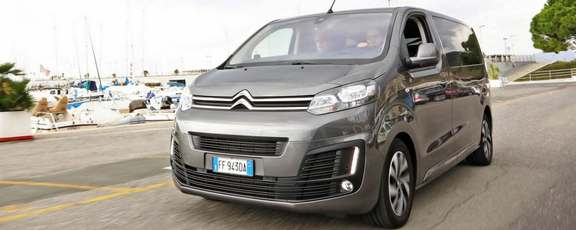 Citroen SpaceTourer: una business lounge a quattro ruote