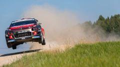 Citroen testa la C3 WRC prima del Rally di Finlandia, in Estonia: ecco com'è andata