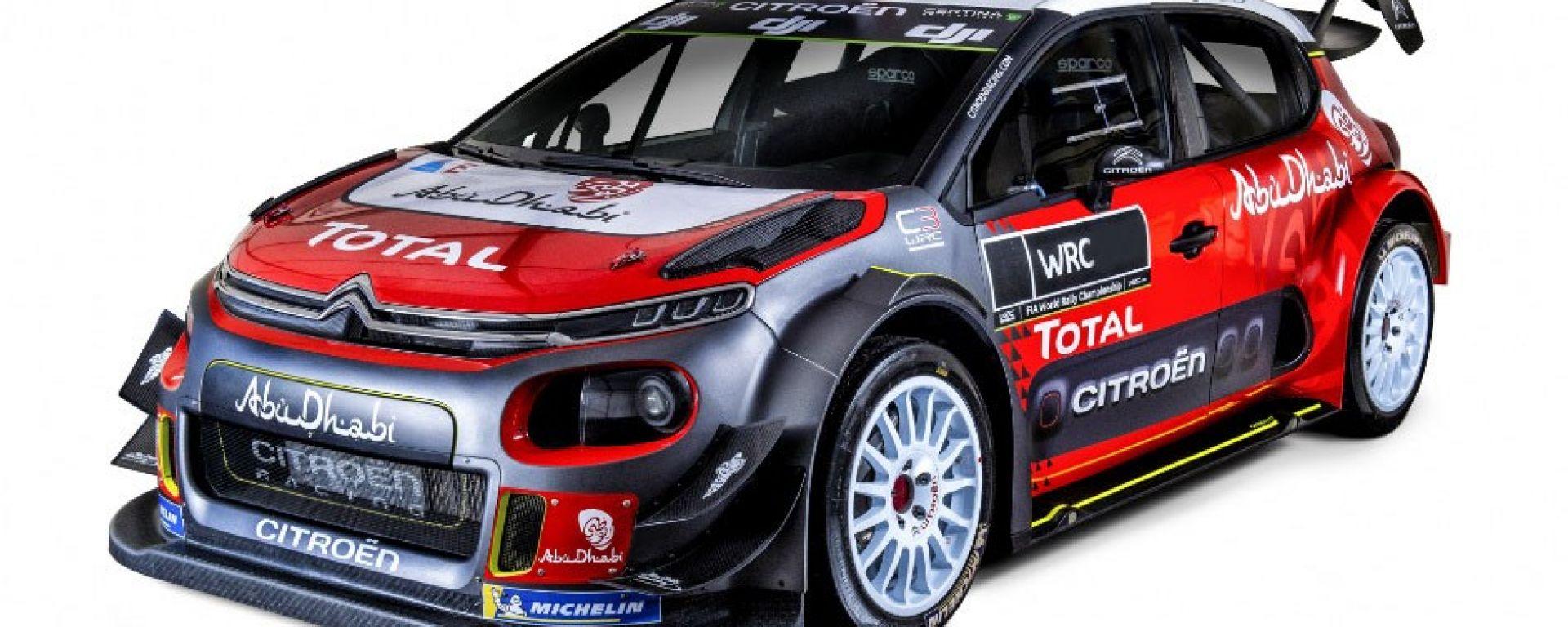 Citroen Racing WRC 2019