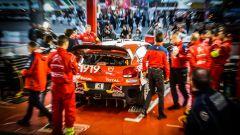 Citroen Total World Rally Team - Parco assistenza Tour de Corse