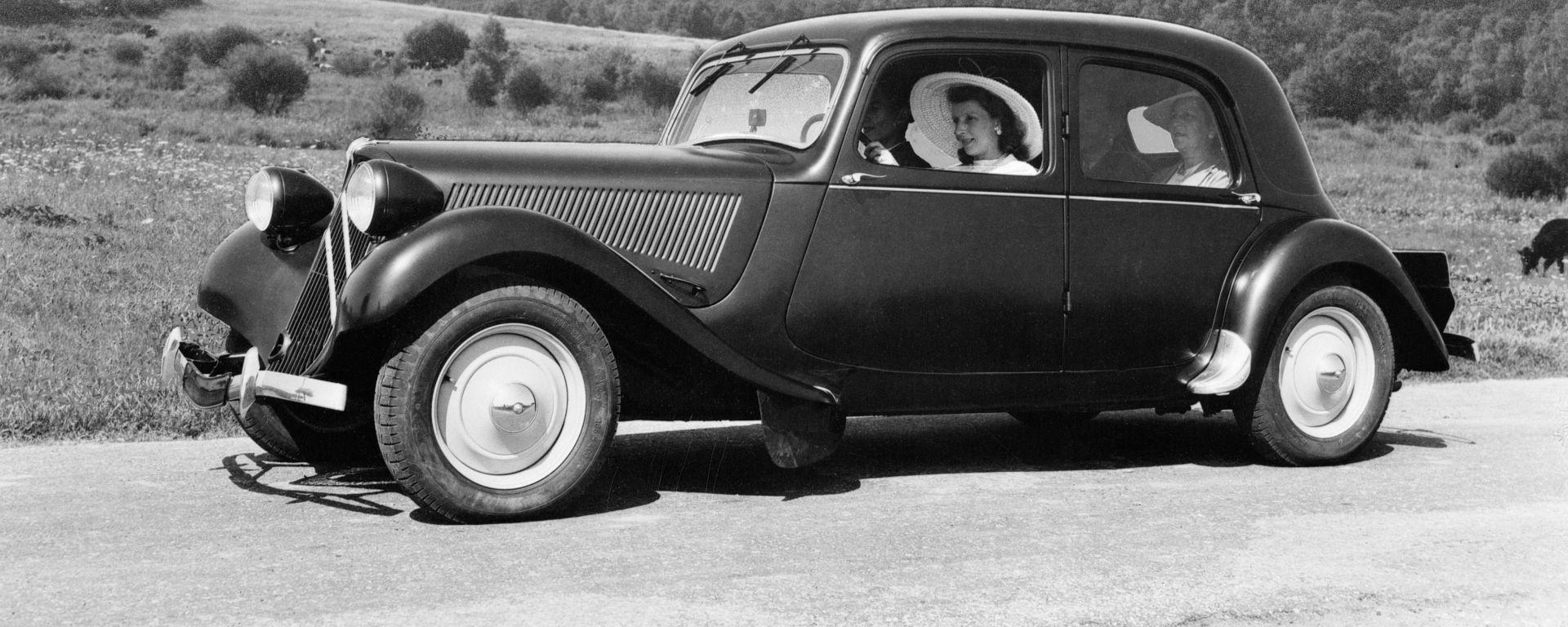 Citroen Traction Avant 11BL Performance del 1956