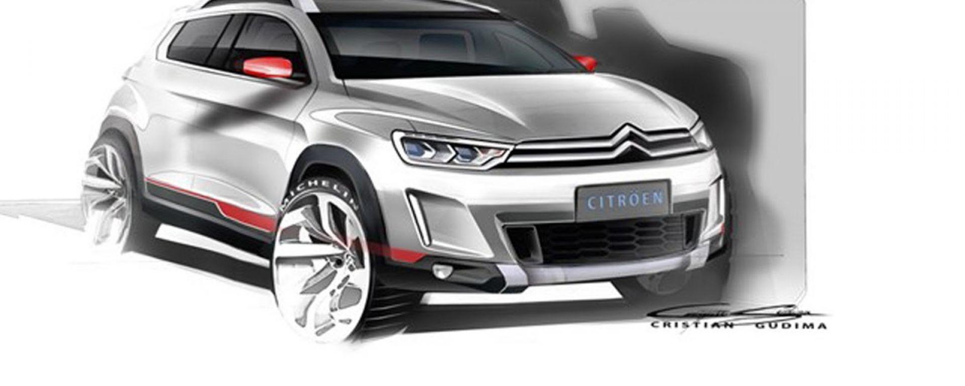 Citroën, un nuovo small suv per Pechino?