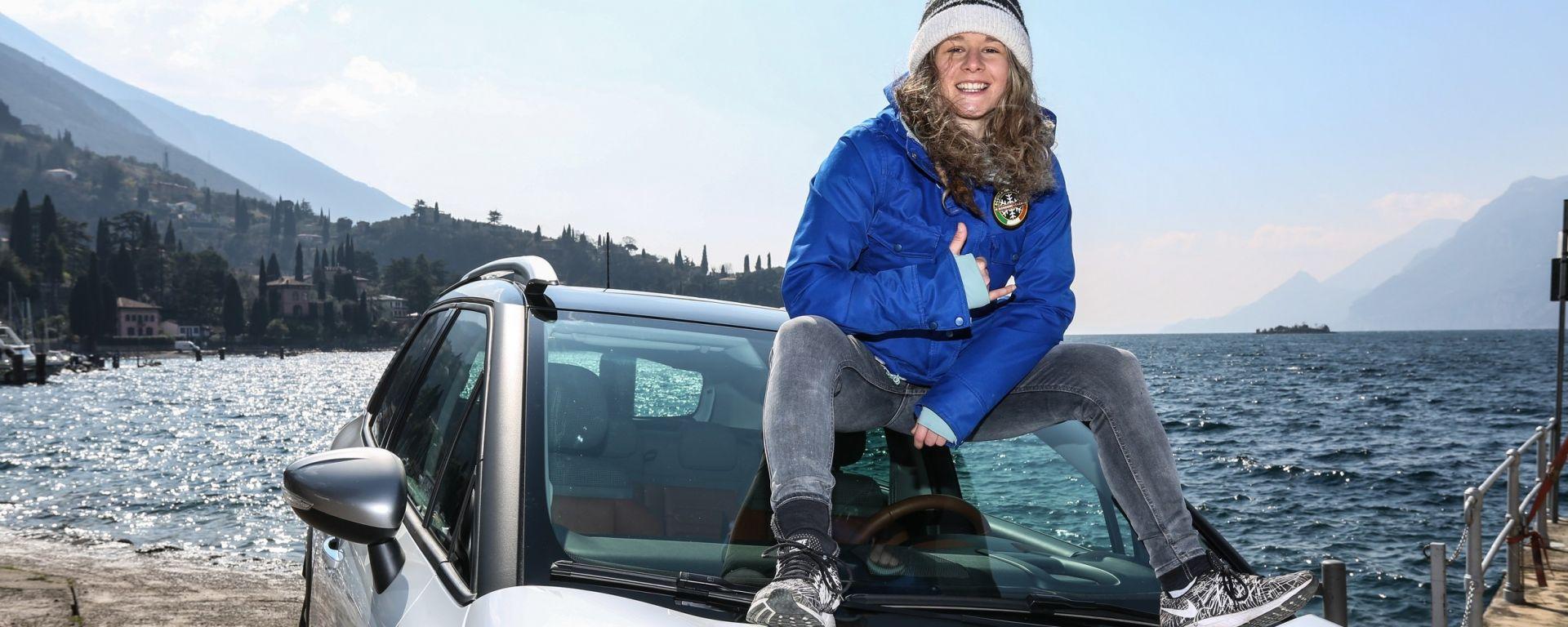 "Citroën Unconventional Team, Arianna Cau: ""Vado dove dove mi porta... la tavola"""