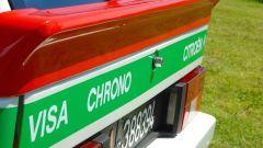 Citroen Visa Chrono: particolare della livrea tricolore