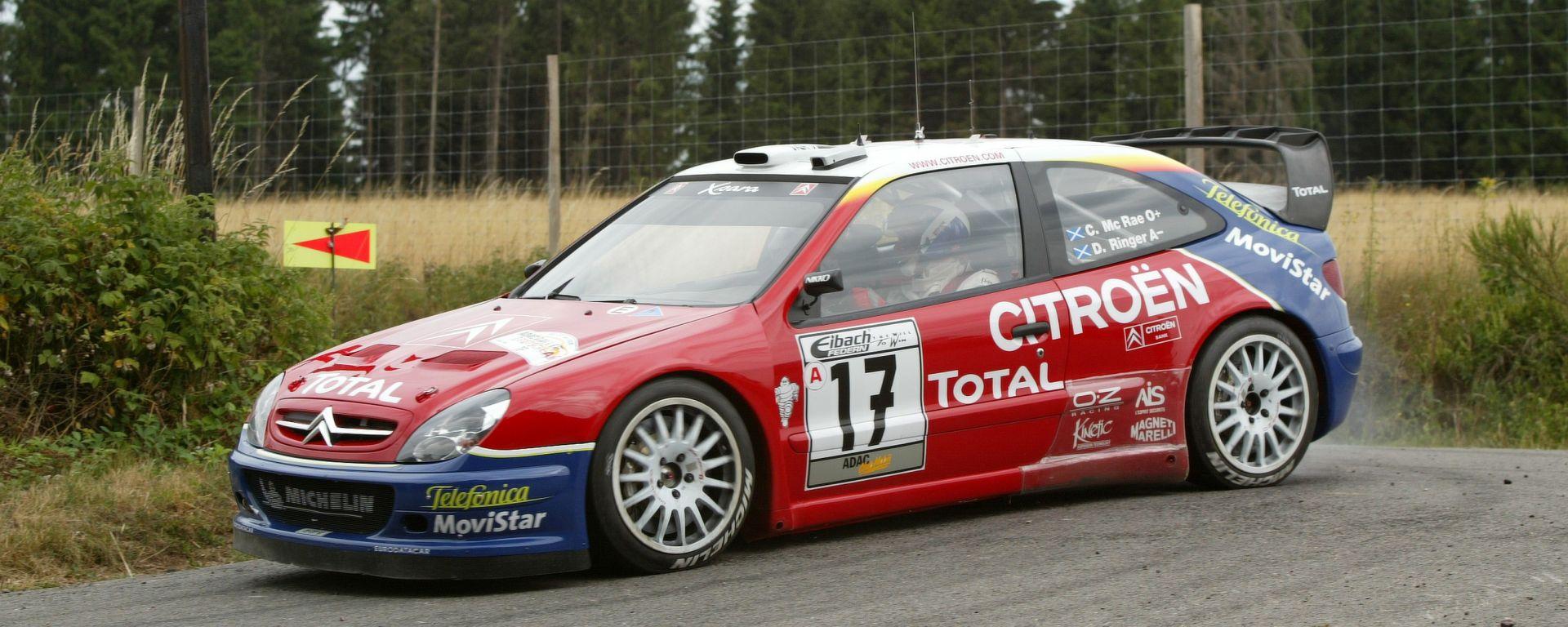 Citroen Xsara WRC: sarà guidata da Kris Meeke al Rallylegend 2017