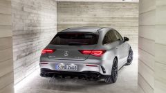 CLA AMG SHOOTING BRAKE 2019 IL POSTERIORE