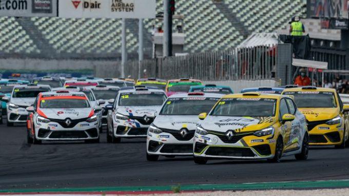Clio Cup Europe 2021, Misano: la partenza di gara-1