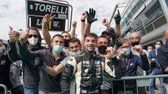 Clio Cup Europe 2021, Monza: i festeggiamenti di Gianluca Torelli