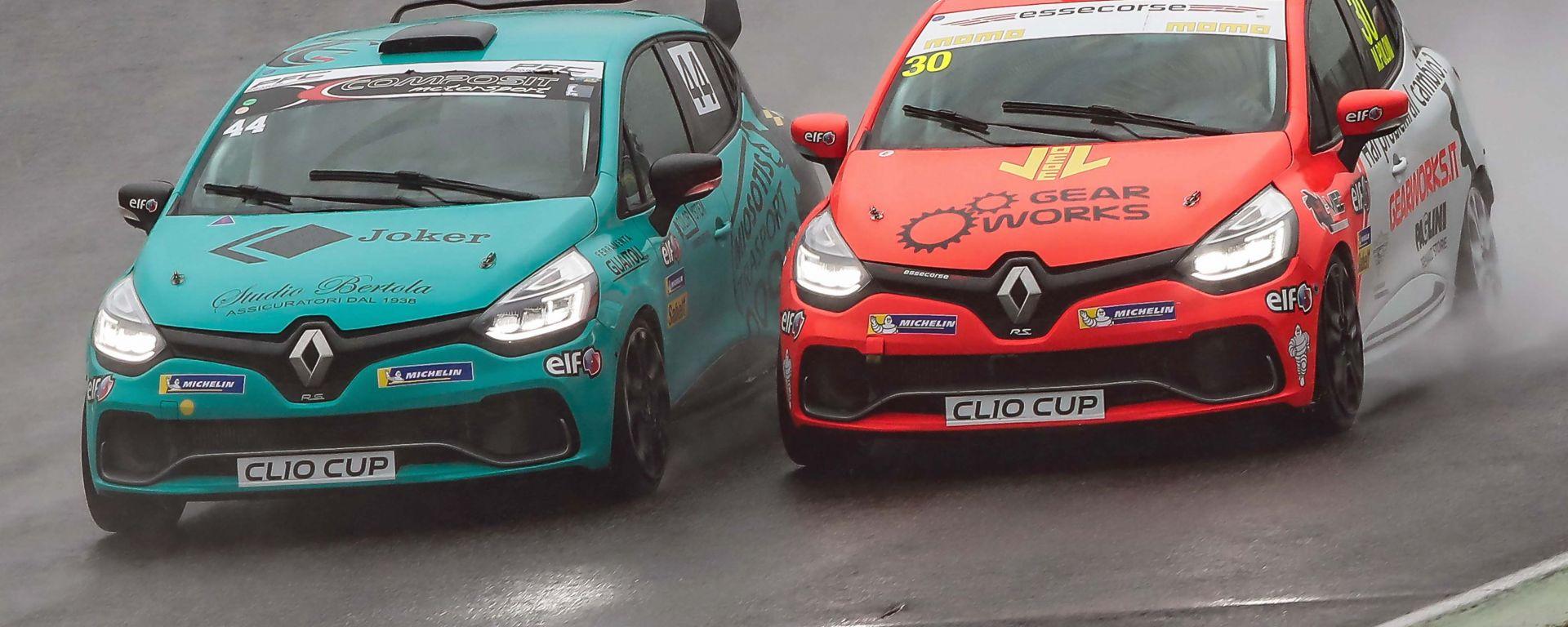 Clio Cup Italia 2019, Jelmini e Poloni in lotta