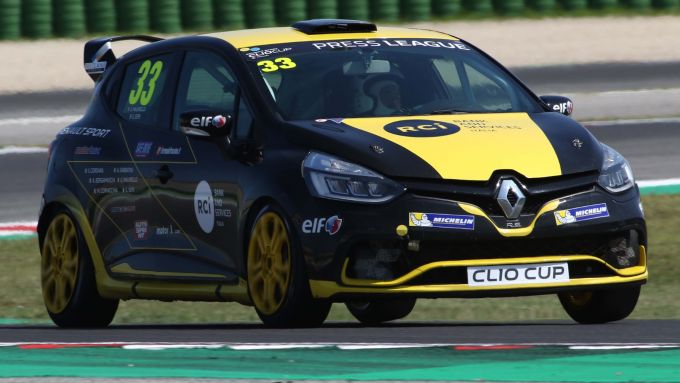 Clio Cup Italia 2019, la vettura della Press League