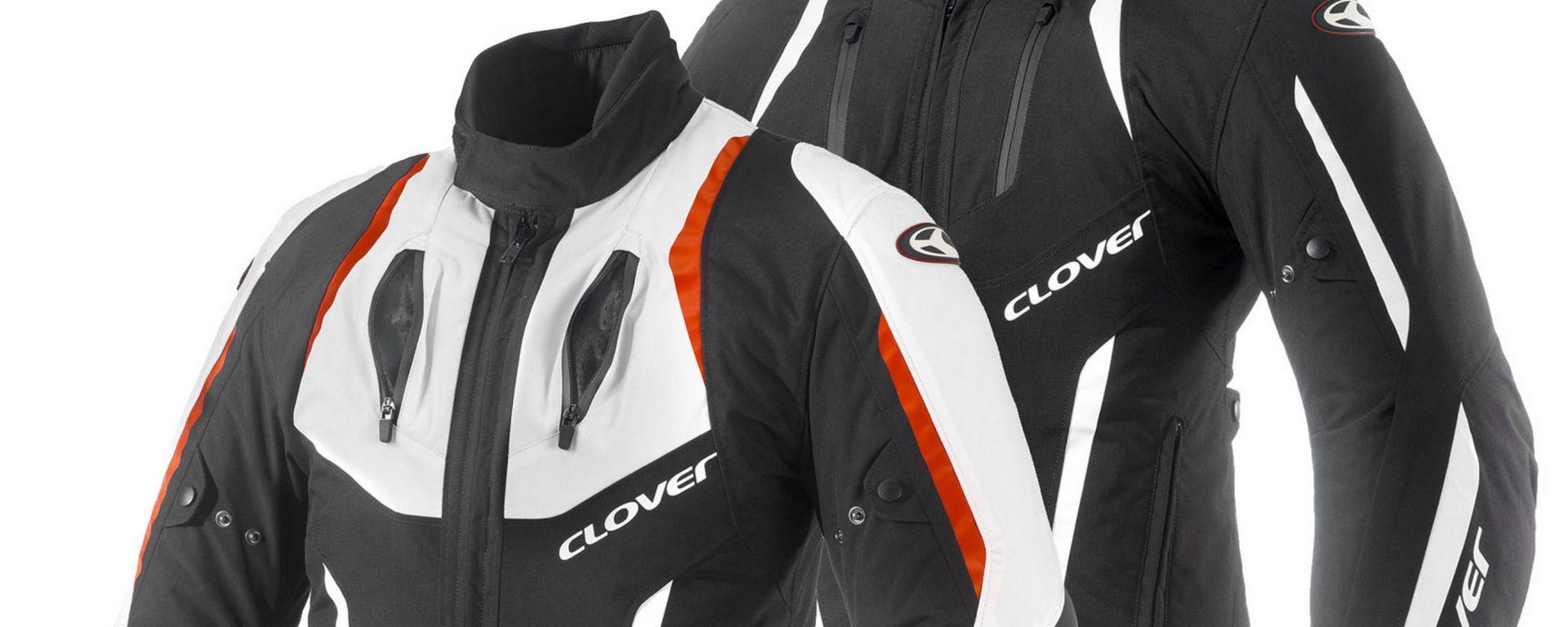 Clover Airblade-2: colorazioni Nero/Bianco, Bianco/Rosso
