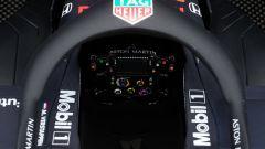 Cockpit di Red Bull Rb15 di Max Verstappen