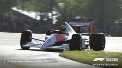 Codemasters F1 2019, la McLaren di Senna