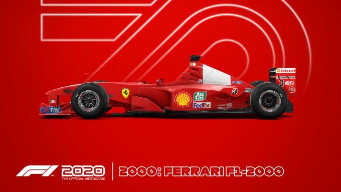 Codemasters F1 2020, c'è anche la Ferrari F1-2000 di Michael Schumacher