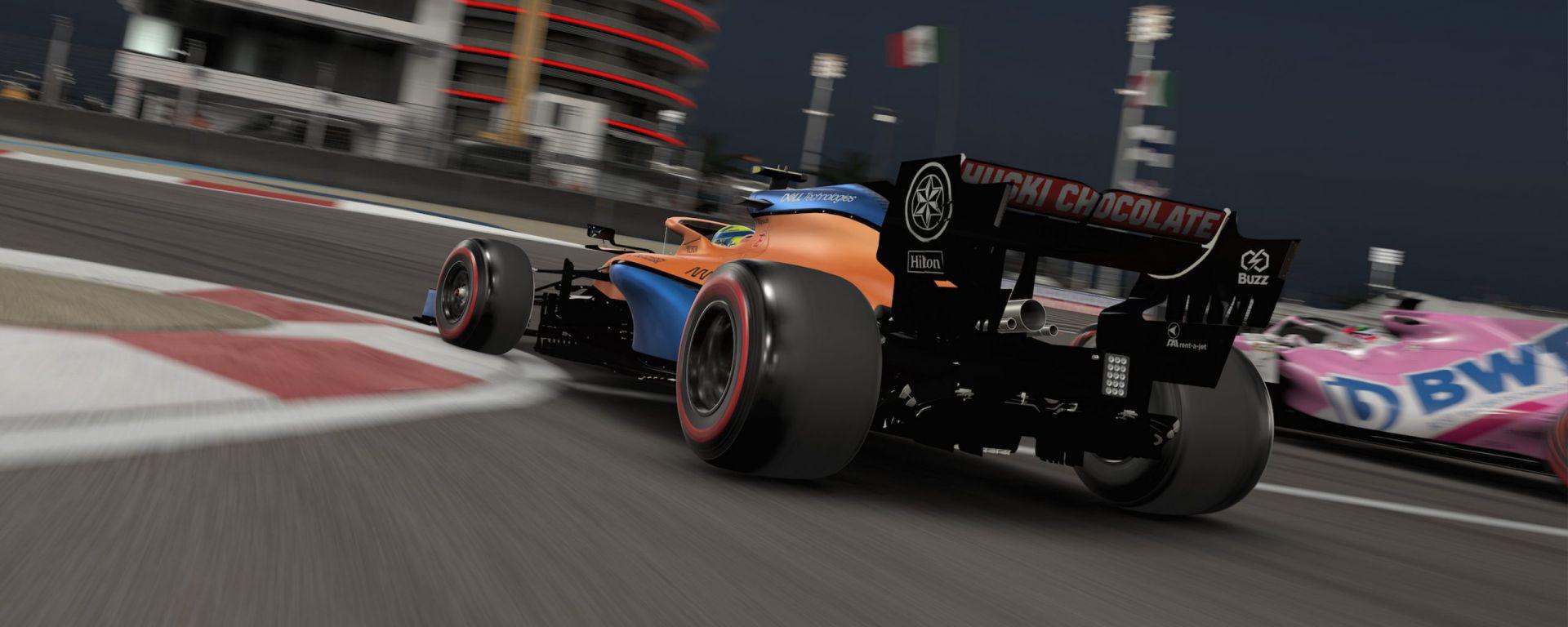 Codemasters F1 2020 è il gioco con il quale si disputa la stagione 2020 della F1 Esports Pro Series