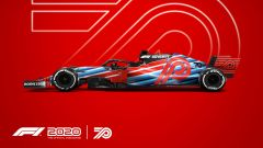 Codemasters F1 2020, la locandina di lancio del nuovo gioco della Formula 1
