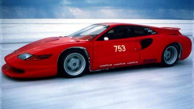 Colani Ferrari Testa d'Oro alla Bonneville Speed Week 1991