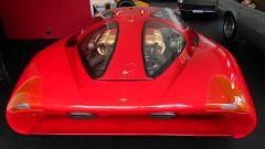 Colani Ferrari Testa d'Oro, dettaglio del cofano motore