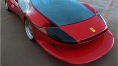 Colani Ferrari Testa d'Oro, dettaglio del frontale