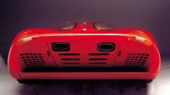 Colani Ferrari Testa d'Oro, il posteriore