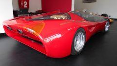 Colani Ferrari Testa d'Oro, vista 3/4 posteriore