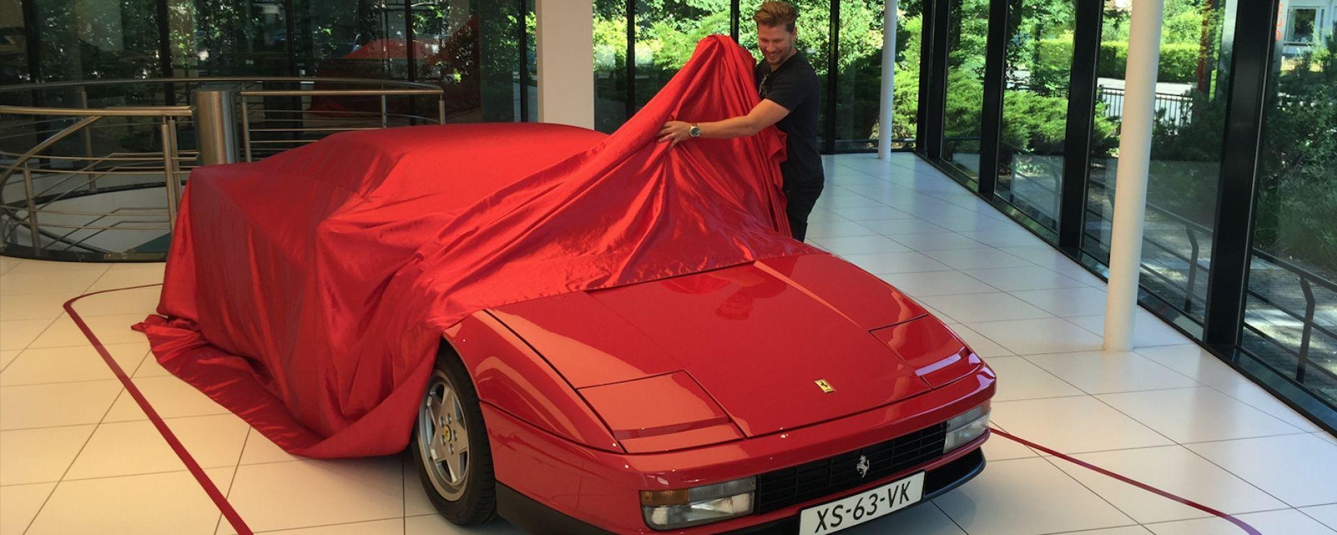Collezionare Ferrari senza essere milionari, intervista a Scott Chivers