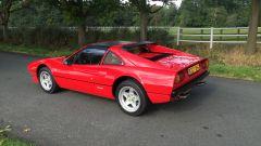Color rosso corsa per Ferrari 308 GTS QV del 1983