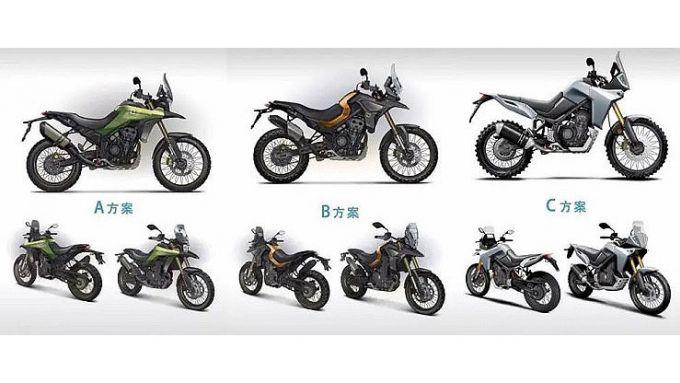 Colove 800X, i tre design proposti