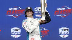 Colton Herta, figlio di Brian, vince la sua prima gara in IndyCar nel 2019 a una settimana dal suo 19° compleanno