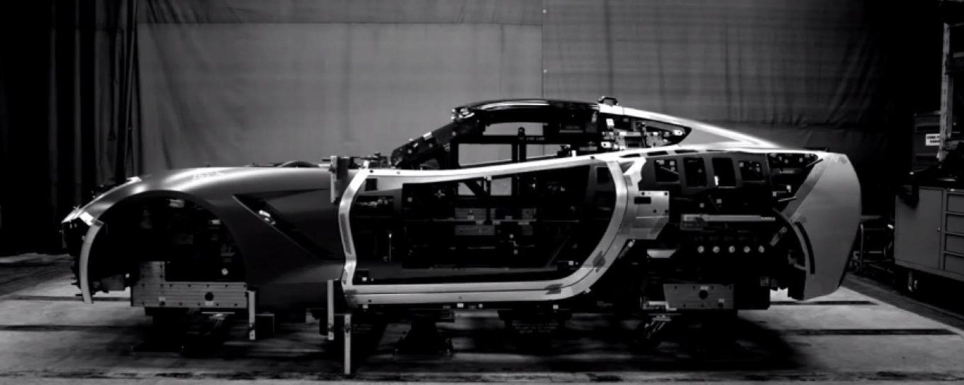 Come nasce la Corvette Stingray 2014