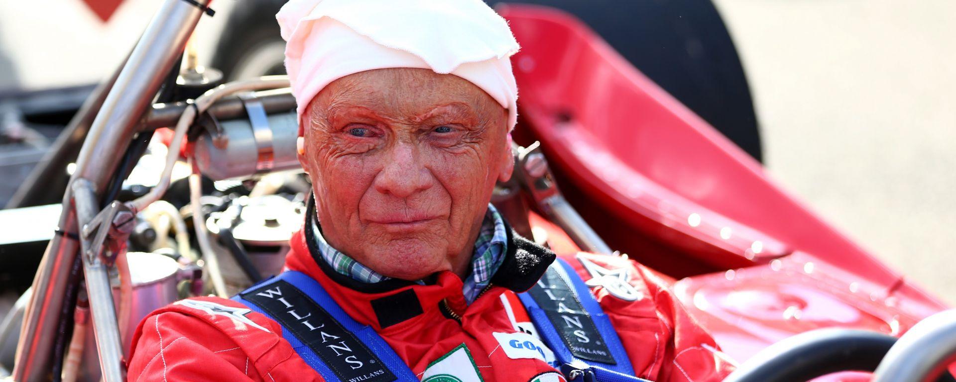 Niki Lauda esce dall'ospedale, lo rivedremo nel box Mercedes