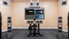 Comfort acustico Audi: il display che mostra i parametri della rumorosità rilevata