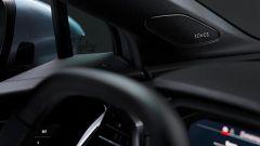 Comfort acustico Audi: il tweeter della Sonos