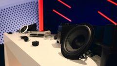 Comfort acustico Audi: un altoparlante