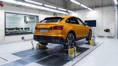Comfort acustico Audi: una RQ Q3 Sporback sul banco di simulazione delle vibrazioni