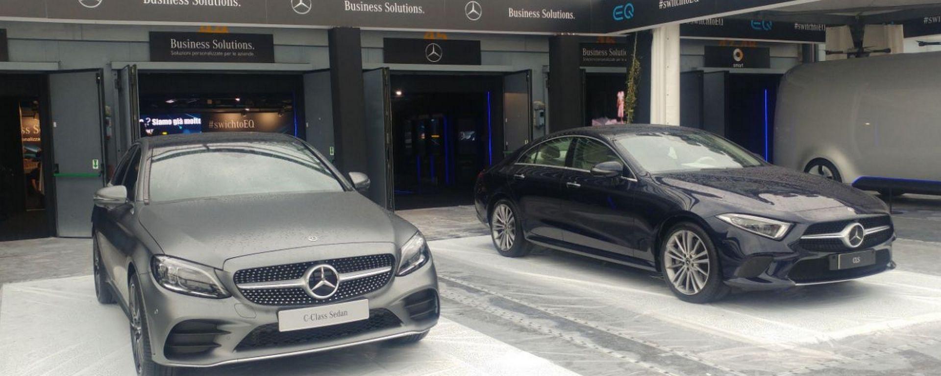 Company Car Drive 2018: Mercedes dà un taglio ai NOx