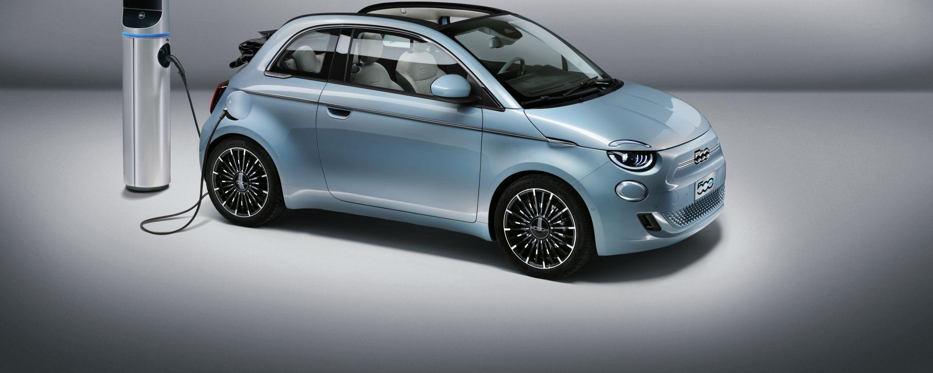 Comparativa 8 citycar elettriche: la Fiat 500e