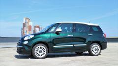 Comparativa auto 7 posti a 25mila euro: la Fiat 500L Wagon è più lunga di 14 cm rispetto alla standard