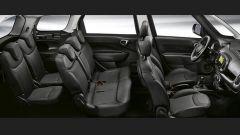 Comparativa auto 7 posti a 25mila euro: l'abitacolo della Fiat 500L Wagon