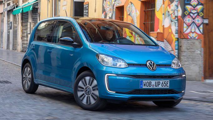 Comparativa citycar elettriche: la Volkswagen e-UP!
