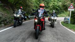 Comparativa Crossover 2021: Yamaha Tracer 9, BMW S 1000 XR, Kawsaki Versys 1000 S