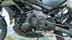 Comparativa crossover: Kawasaki Versys 650, il motore