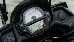 Comparativa crossover: Kawasaki Versys 650, la strumentazione analogico/digitale