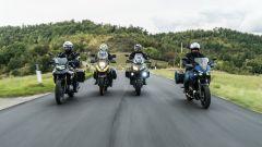 Sfida Crossover: Tracer 700, V-Strom 650, Versys 650 e F 750 GS  (video) - Immagine: 1