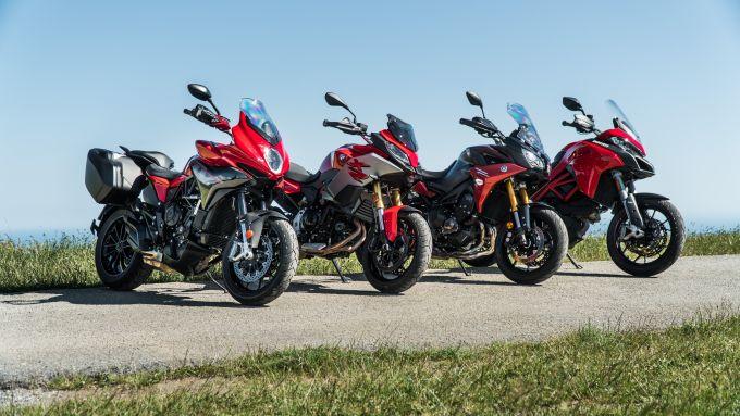Comparativa Crossover: Yamaha, BMW, Ducati e MV Agusta