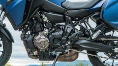 Comparativa crossover: Yamaha Tracer 700, dettaglio del motore